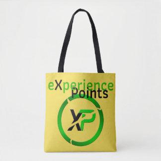 la bolsa de asas de la moneda de los puntos/XP de