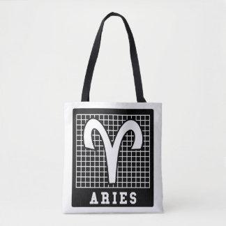 La bolsa de asas de la muestra del zodiaco del