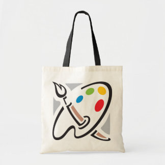 La bolsa de asas de la paleta de los pintores