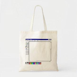 La bolsa de asas de la pintura del ms de Windows