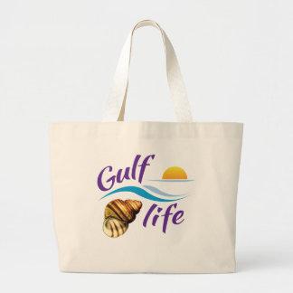 La bolsa de asas de la playa de la vida del golfo