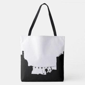 La bolsa de asas de la playa de Venecia