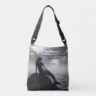 La bolsa de asas de la sirena con cita de Platón