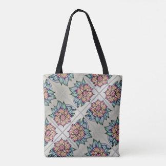 La bolsa de asas de la sombra de la flor