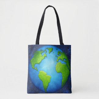 La bolsa de asas de la tierra del planeta