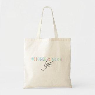 La bolsa de asas de la vida de Hashtag Homeschool