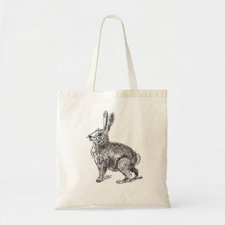 La bolsa de asas de las liebres del conejo de
