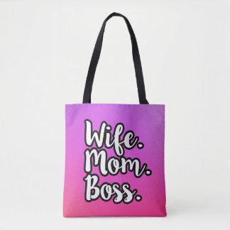 La bolsa de asas de las mujeres de Boss de la mamá