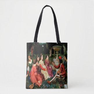 La bolsa de asas de las señoras del jardín
