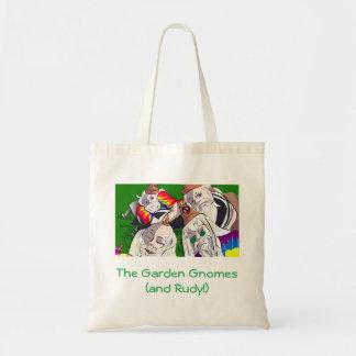 La bolsa de asas de los gnomos del jardín