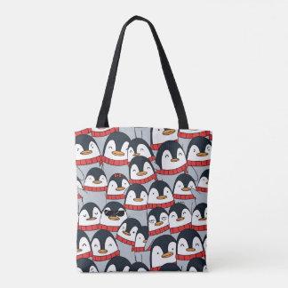 La bolsa de asas de los pingüinos de las Felices