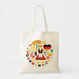 La bolsa de asas de los símbolos nacionales de