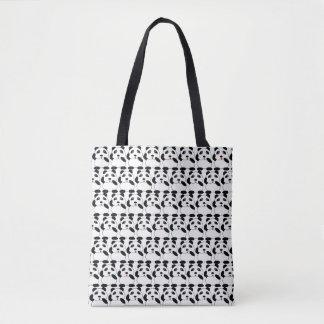La bolsa de asas de moda linda de la panda del