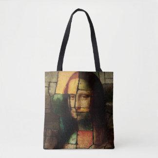 La bolsa de asas de Mona Lisa del arte pop