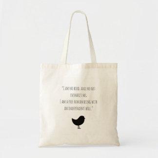 La bolsa de asas de motivación de Jane Eyre