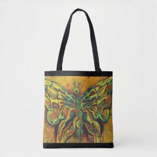 La bolsa de asas de oro del diseñador de la