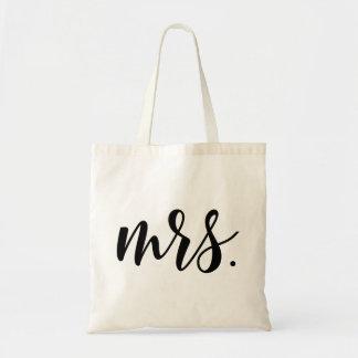 La bolsa de asas de señora Modern Wedding Script