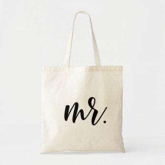 La bolsa de asas de Sr. Modern Wedding Script