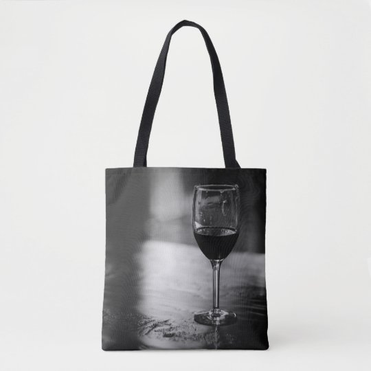 La bolsa de asas del amante del vino elegante