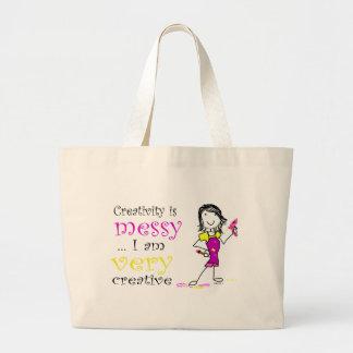La bolsa de asas del arte - la creatividad es