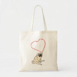La bolsa de asas del barro amasado del amor -