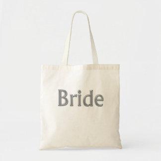 La bolsa de asas del boda de la novia