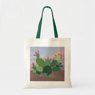 La bolsa de asas del cactus del calicó