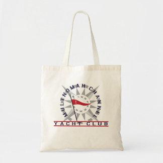 La bolsa de asas del club náutico con el logotipo