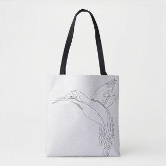 "La bolsa de asas del ""colibrí"""
