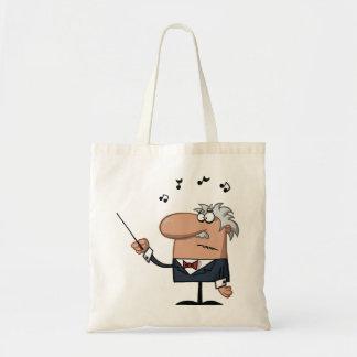 La bolsa de asas del conductor del dibujo animado