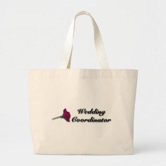La bolsa de asas del coordinador del boda