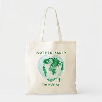 La bolsa de asas del ecologista de la madre tierra