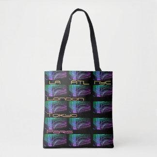 La bolsa de asas del fashionista del viajero de