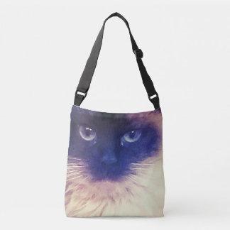 La bolsa de asas del gato persa