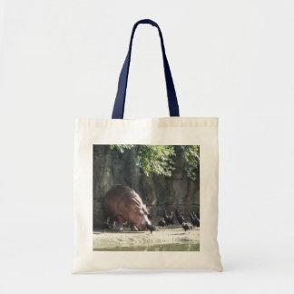 La bolsa de asas del Hippopotamus