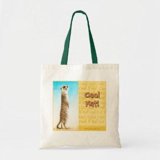 """La bolsa de asas del """"Kat fresco"""" Meerkat"""