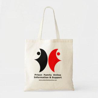La bolsa de asas del logotipo de PFO