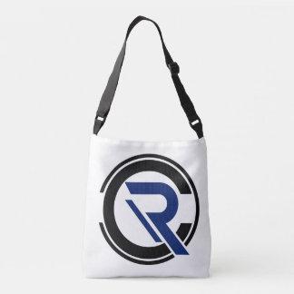 La bolsa de asas del logotipo del color del CRC