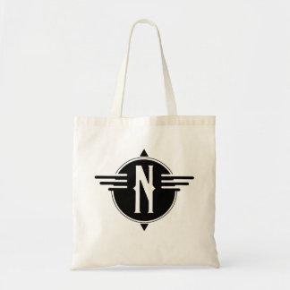 La bolsa de asas del norte del símbolo del mapa