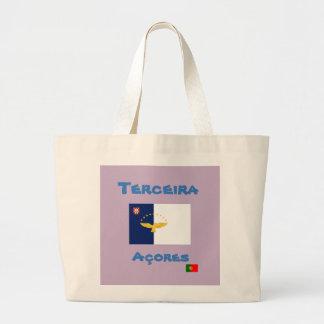 La bolsa de asas del personalizado de Terceira