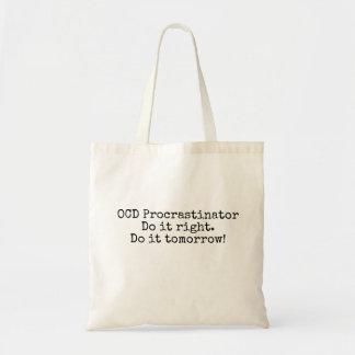 La bolsa de asas del Procrastinator de OCD