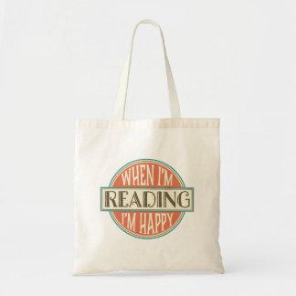 La bolsa de asas del regalo de la lectura del