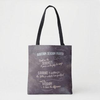 La bolsa de asas del rezo de la estación de la