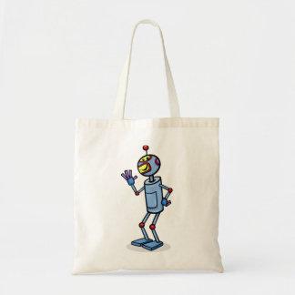 La bolsa de asas del robot del baile