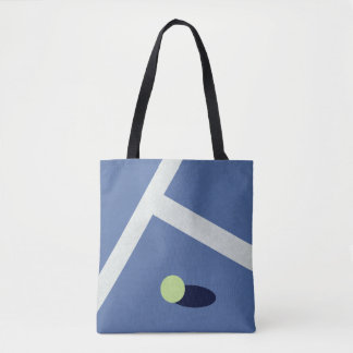 La bolsa de asas del tenis