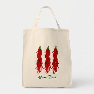 La bolsa de asas del ultramarinos de las pimientas