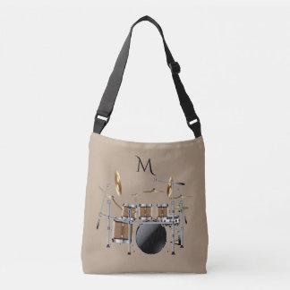 La bolsa de asas determinada del monograma del