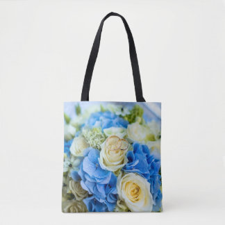 La bolsa de asas: Diseño floral