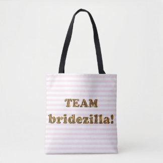 La bolsa de asas divertida de Bridezilla el  
