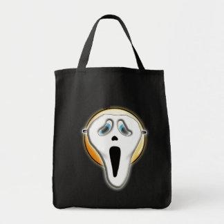 La bolsa de asas divertida de la máscara de Emoji